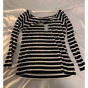 F21 striped shirt 🖤